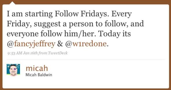Qué es #FollowFriday? y su máxima expresión, La #RevistaTwittera
