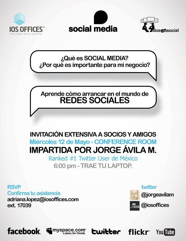 ¿Qué es SOCIAL MEDIA?… ¿Por qué es importante para mi NEGOCIO? por @jorgeavilam – Live IOS Offices!