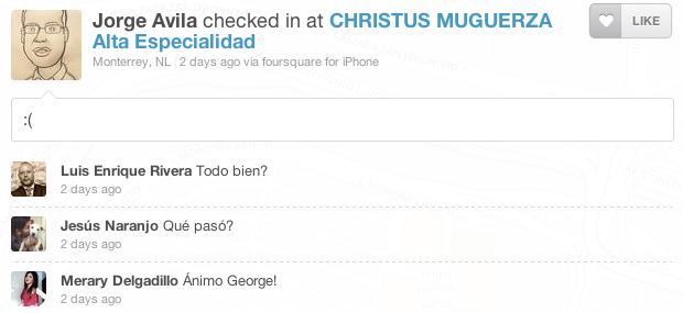 Foursquare Christus Muguerza