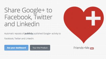 Conecta tu cuenta de Google+ con Facebook, Twitter y LinkedIn