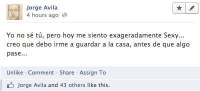 El que le da Me Gusta a sus publicaciones en Facebook es un… Listo.