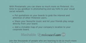 Pinstamatic: Genera contenido visualmente atractivo para Pinterest