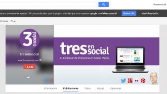 Google Plus: URL's personalizadas y cambios en el perfil