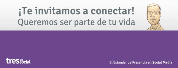Conecta con nosotros :)