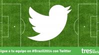 ¡Apoya a tu favorito en el #Mundial2014 con Twitter!