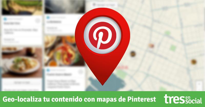 Sácale provecho a los tableros de mapas de #Pinterest