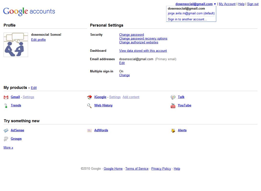 Cómo unificar tus cuentas de Google?