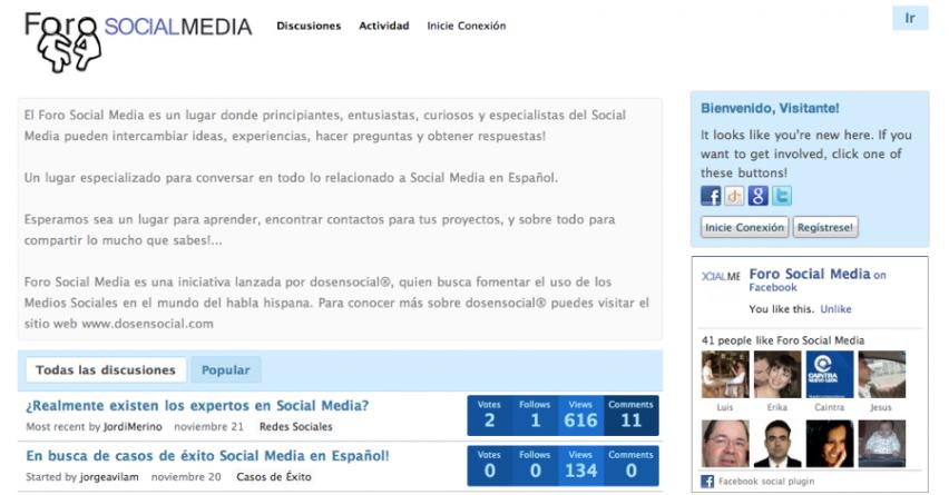Conoce Foro Social Media – Un espacio para compartir y aprender!