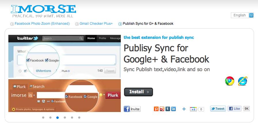 Conecta Google+ con Twitter, Facebook, Facebook Pages y más!