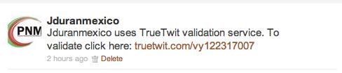 Te llegan muchos emails de gente que te sigue en Twitter y unos son Spam? Automatiza!
