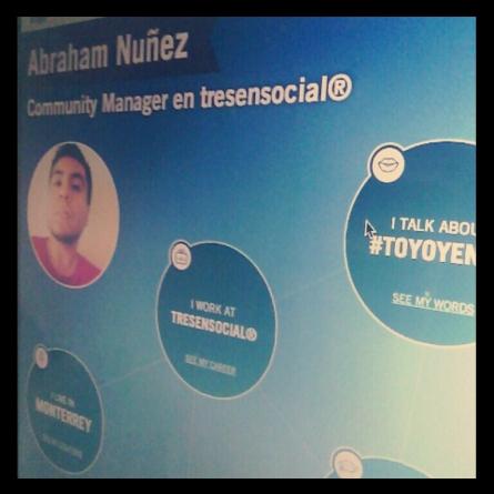 Crea una biografía social interactiva con Vizify