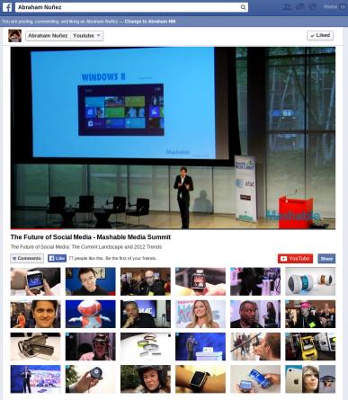 Integra tu canal de Youtube a tu página de Facebook