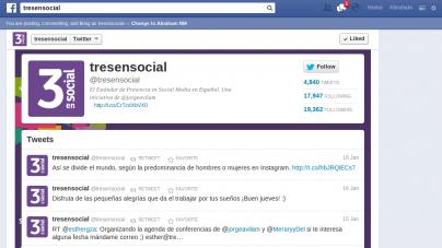 Integra Twitter a tu página de Facebook