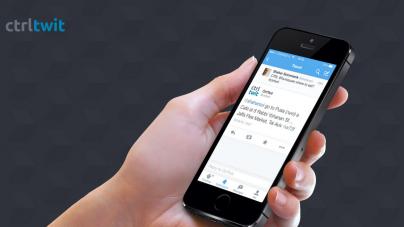 ctrltwit: Controla apps con el poder de un tweet