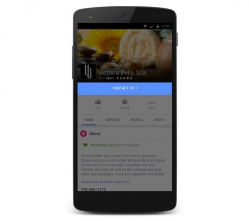 Páginas de Facebook: Optimizado para Negocios y actualizado para el móvil